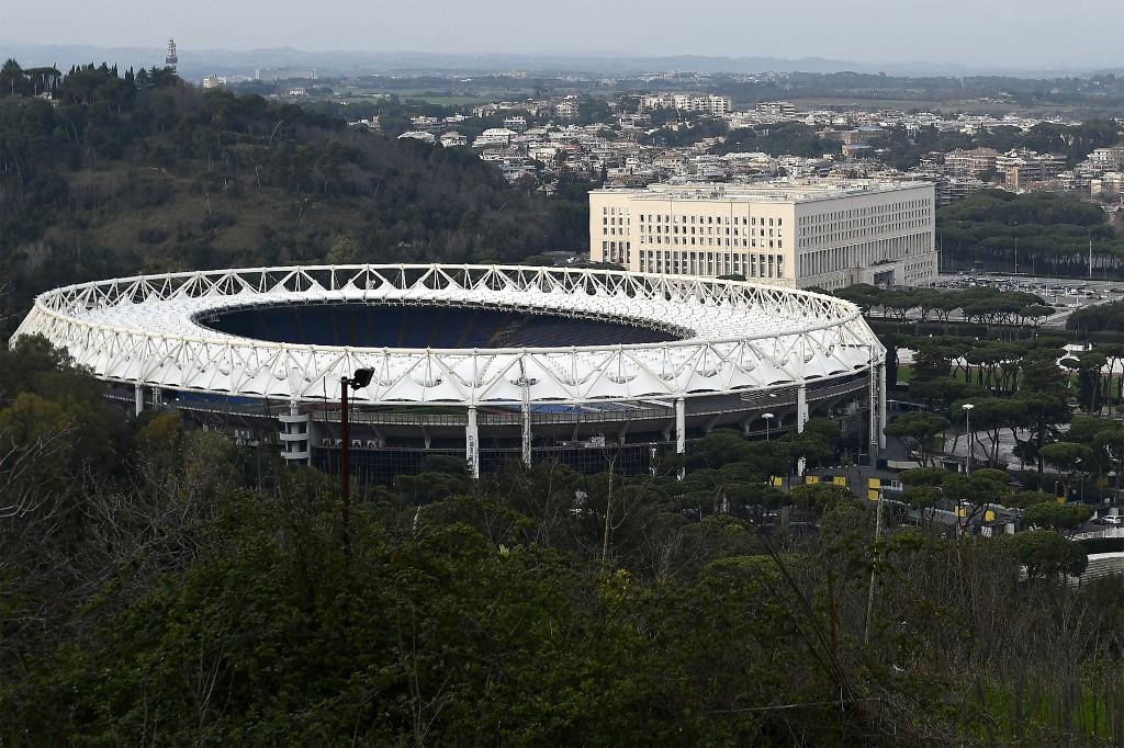 Estádio Olímpico de Roma recebe a abertura da Euro2020, entre Itália e Turquia, no dia 11 de junho