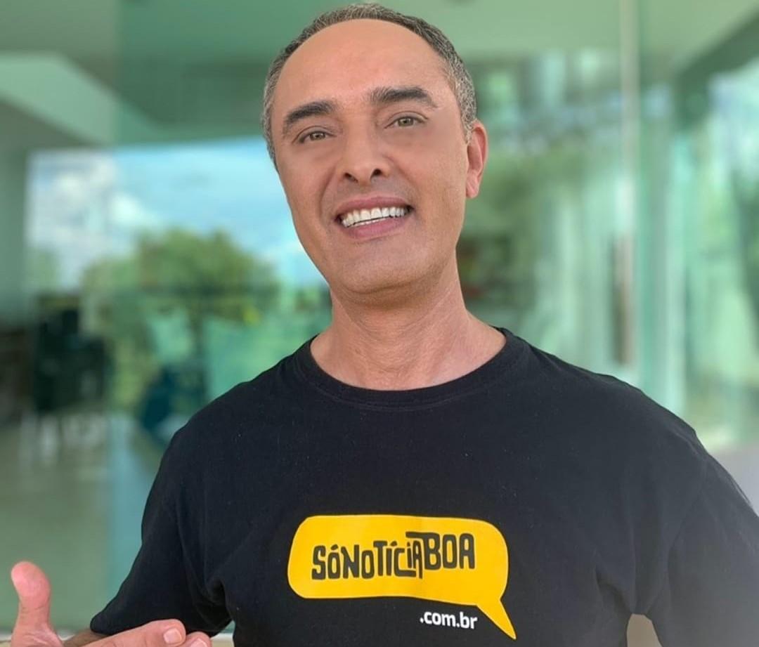 Rinaldo de Oliveira, fundador do Só Notícia Boa