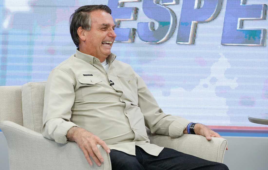 Bolsonaro no programa da TV A Crítica