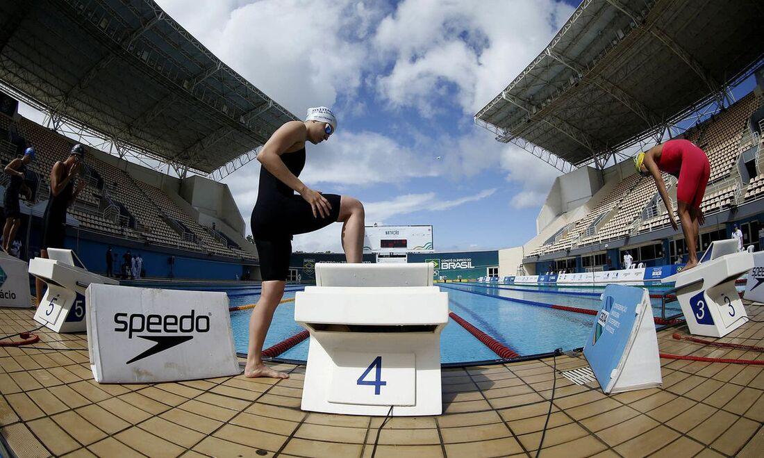 Seletiva nacional de natação acontece na tarde desta quinta-feira (22)