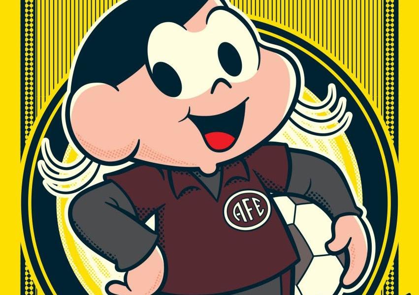 Personagem Magali remete à treinadora campeã da Libertadores no futebol de mulheres