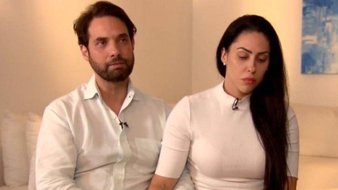 Vereador Dr. Jairinho e Monique Medeiros, mãe de Henry Borel