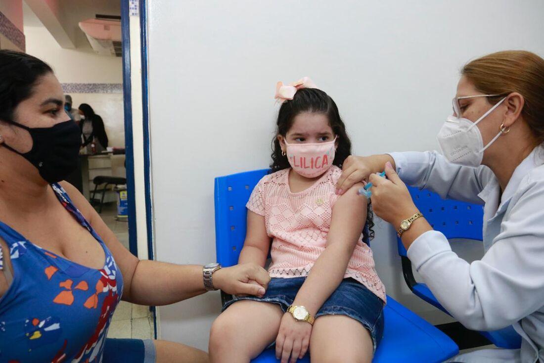 Vacinação contra gripe no Recife