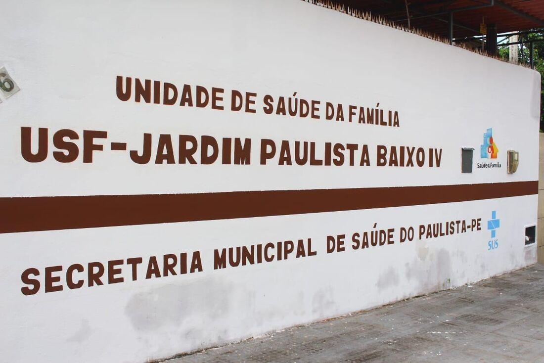 Unidade de Saúde da Família em Paulista