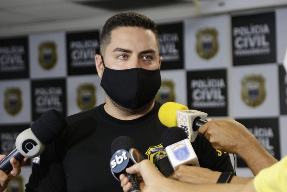 Delegado Mário Melo, titular de Barreiros