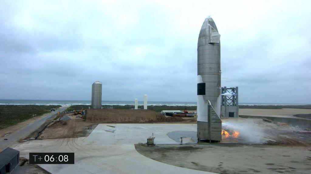 O protótipo do futuro foguete da SpaceX, o SN15 (Serial Number 15)