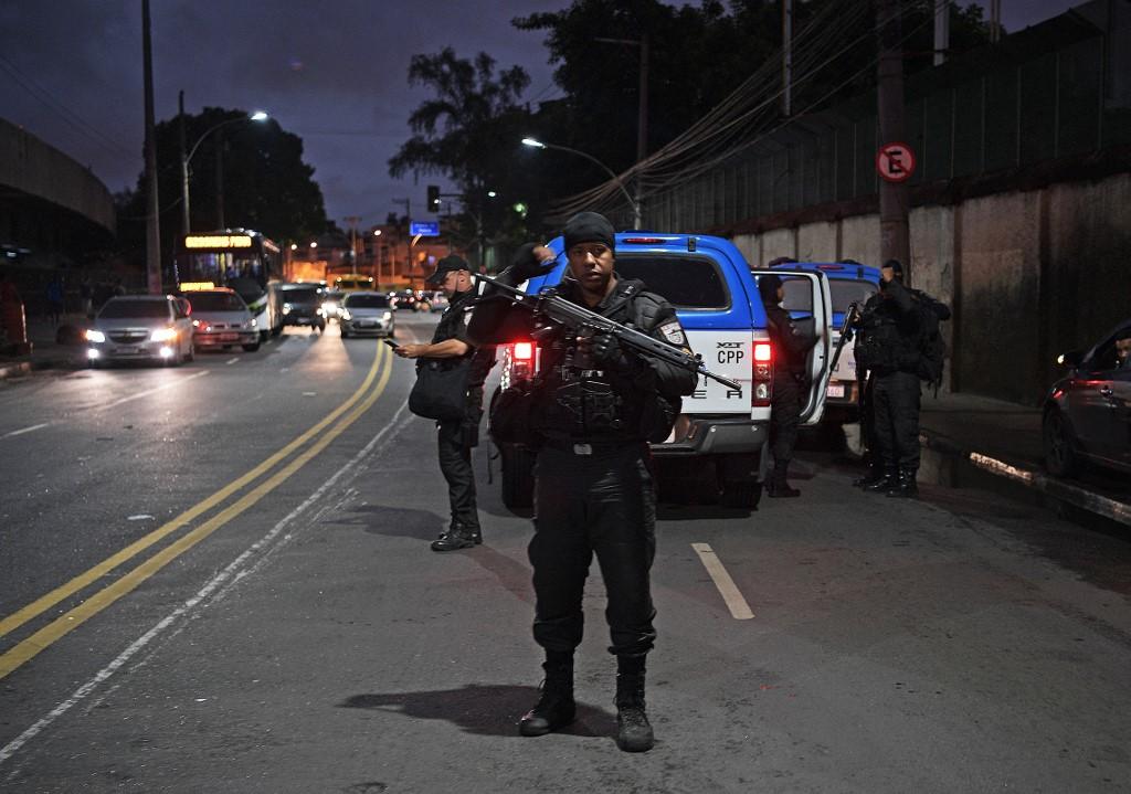 Polícia no Jacarezinho