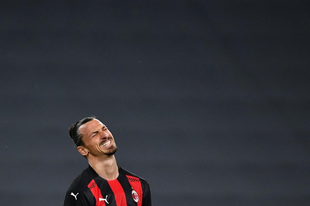 Zlatan Ibrahimovic, atacante do Milan