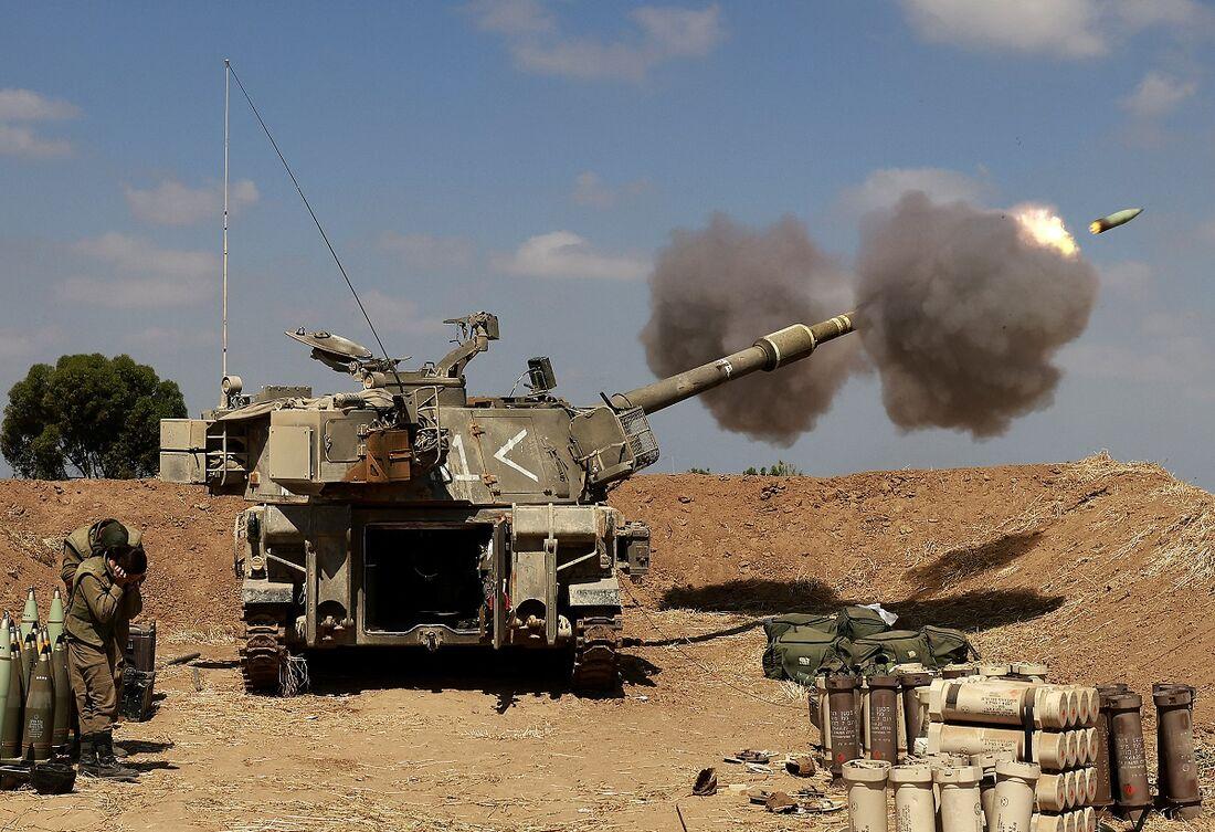 Tropas israelenses haviam se concentrado na fronteira com Gaza