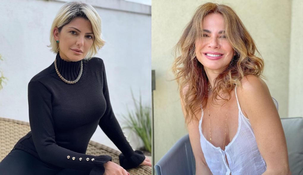 Antonia Fontenelli e Luciana Gimeniz