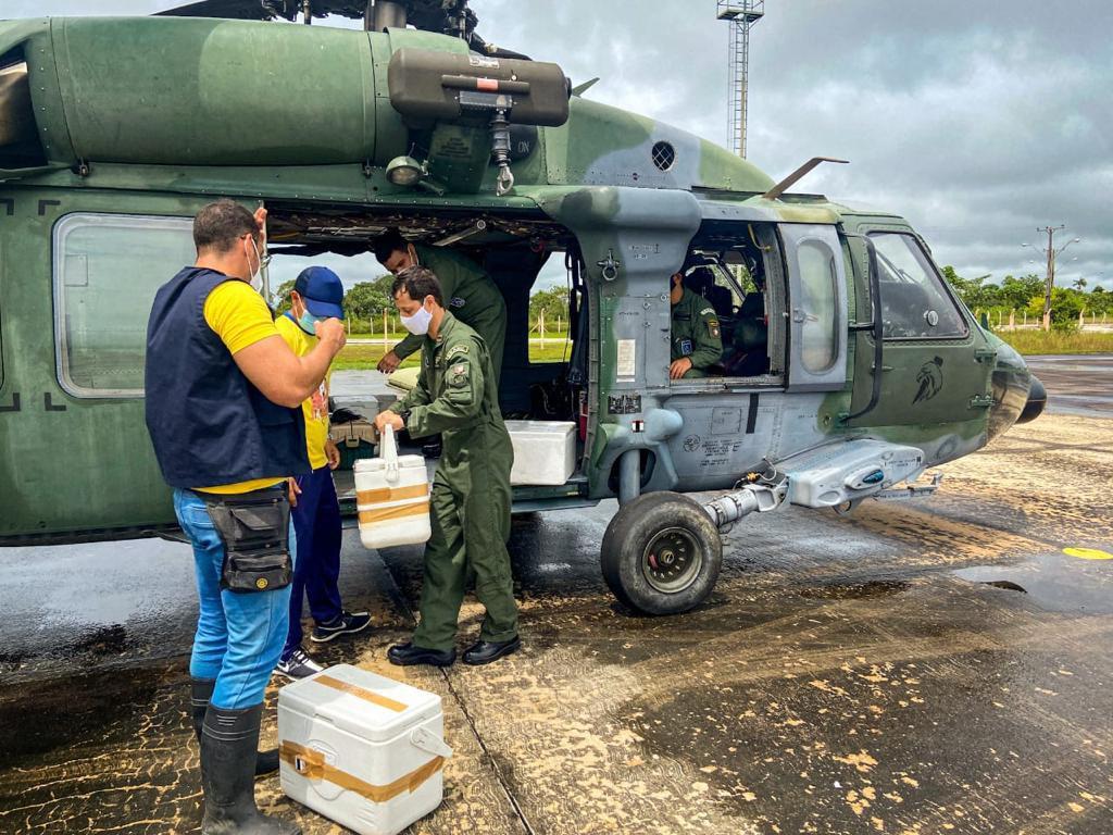 Forças Armadas apoiam a campanha de vacinação contra a Covid-19