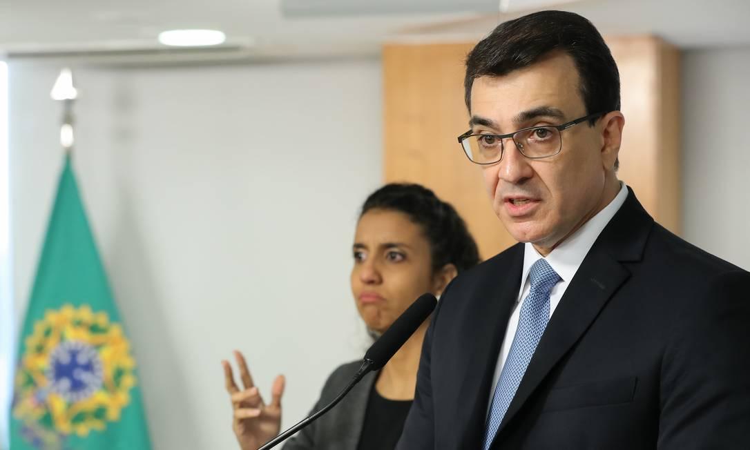 Ministro das Relações Exteriores, Carlos Alberto França