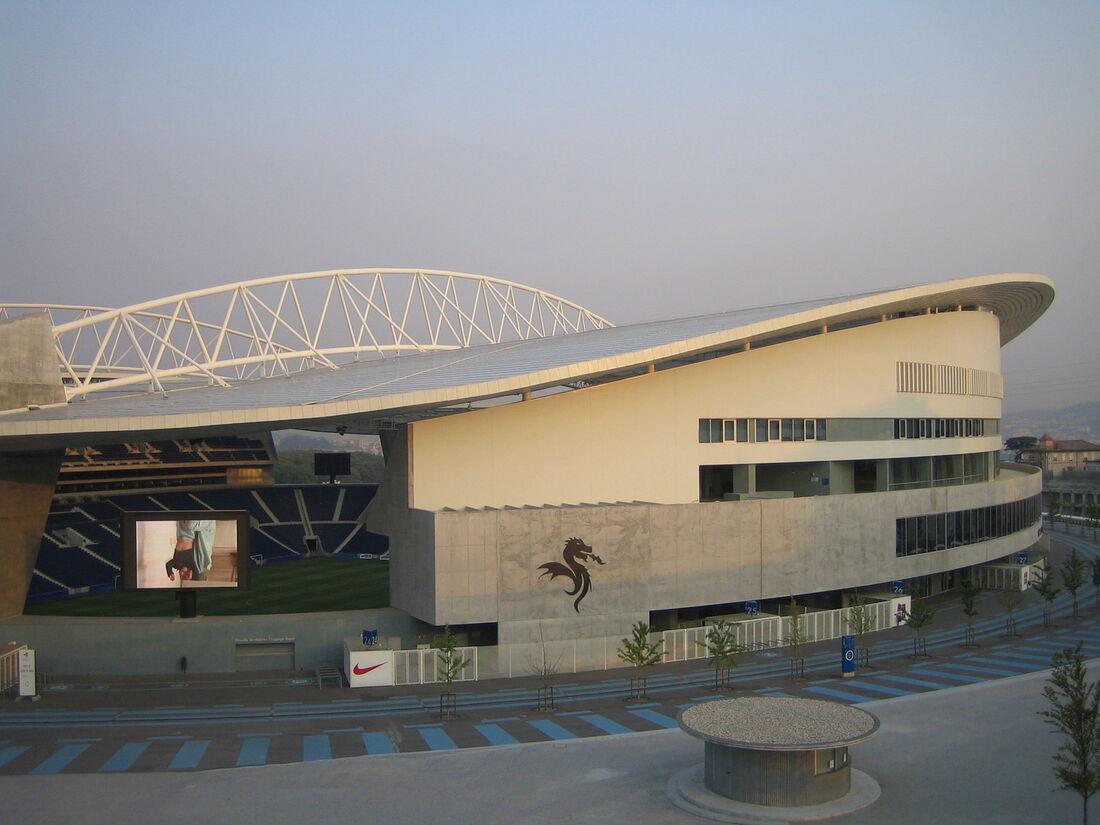 Estádio do Dragão, na cidade do Porto