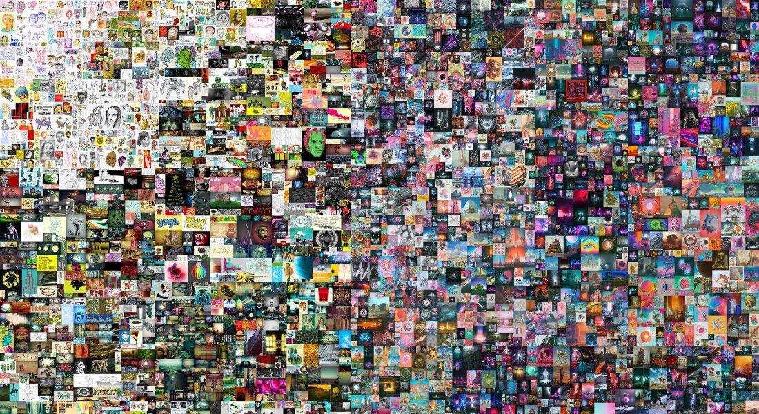 """""""Everydays: The First 5.000 Days"""", do artista Beeple, foi vendida em NFT por R$ 387 milhões"""