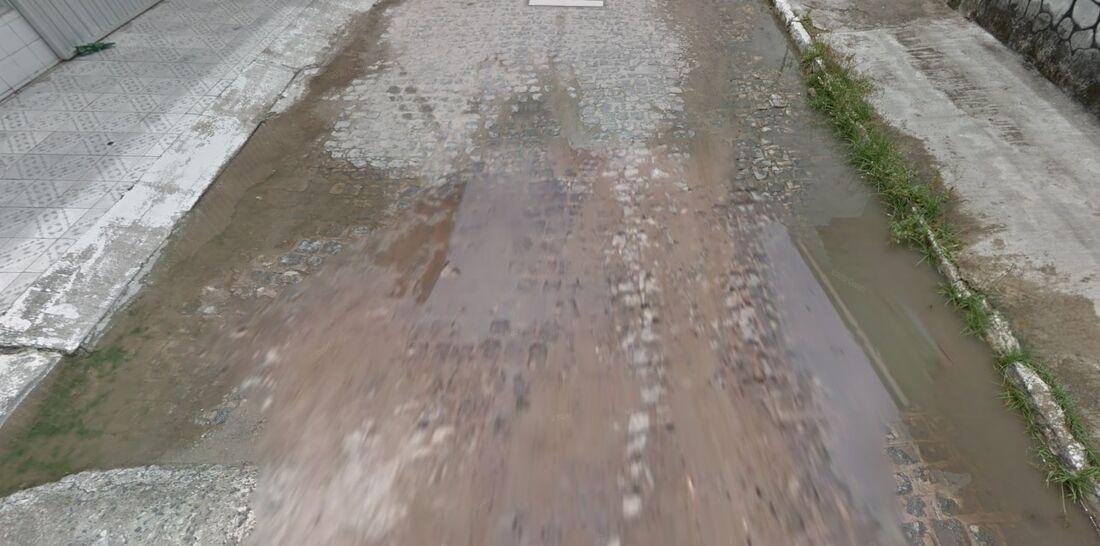 Rua 59, em Paulista
