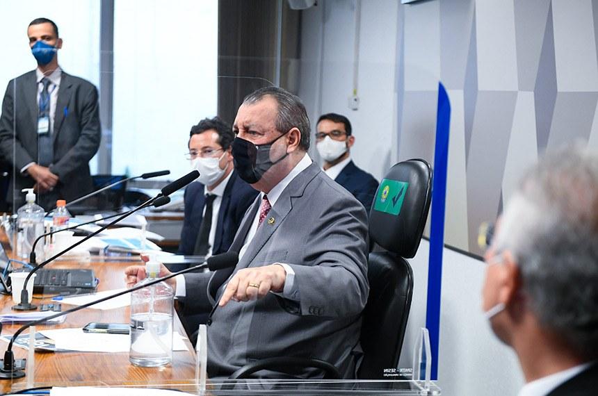 Sessão da CPI da Covid dessa quarta-feira, quando foi ouvido Fabio Wajngarten