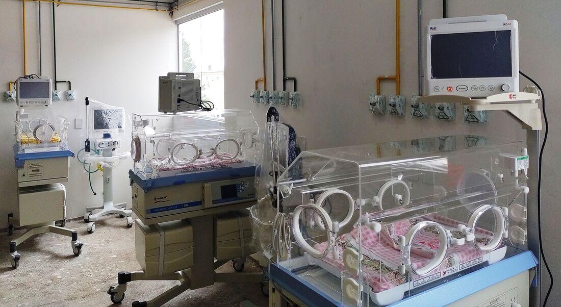 Leitos de UTI neonatal em Araripina