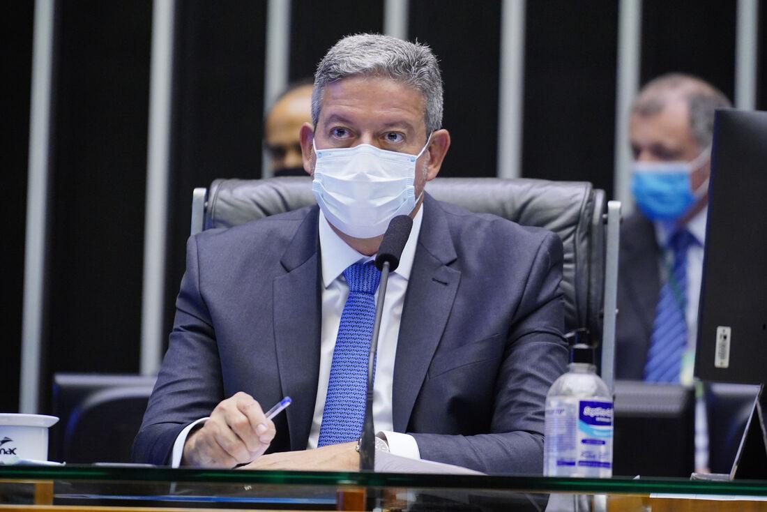Presidente da Câmara dos Deputados, dep. Arthur Lira (PP-AL)