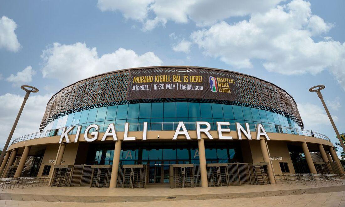 Kigali Arena, em Ruanda
