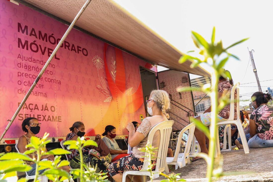 Mamógrafo móvel da Prefeitura do Recife