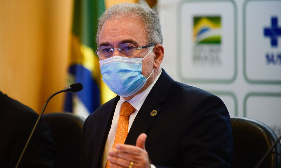 Anúncio foi feito em coletiva com o ministro Marcelo Queiroga