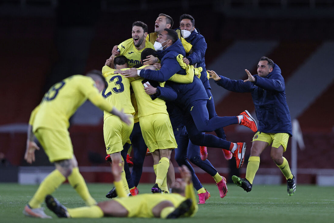 Arsenal e Villarreal empataram em 0 a 0 nesta quinta-feira (6), no Emirates Stadium, resultado que colocou a equipe espanhola na final, que havia vencido o jogo de ida por 2 a 1.
