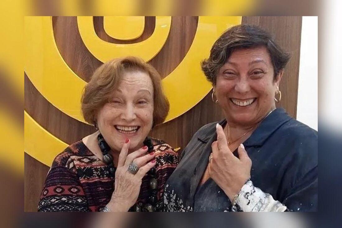 Nicette Bruno e a filha Bárbara