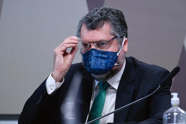 Ex-ministro das Relações Exteriores, Ernesto Araújo