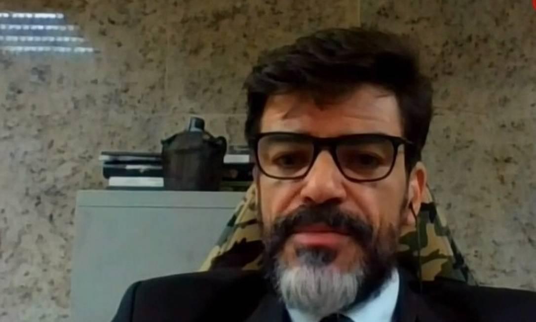 Delegado da Polícia Federal, Alexandre Saraiva