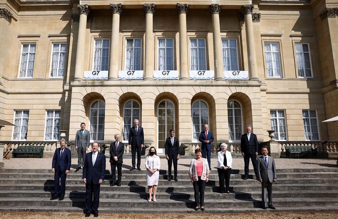 Ministros das Finanças do G7 se reuniram em Londres