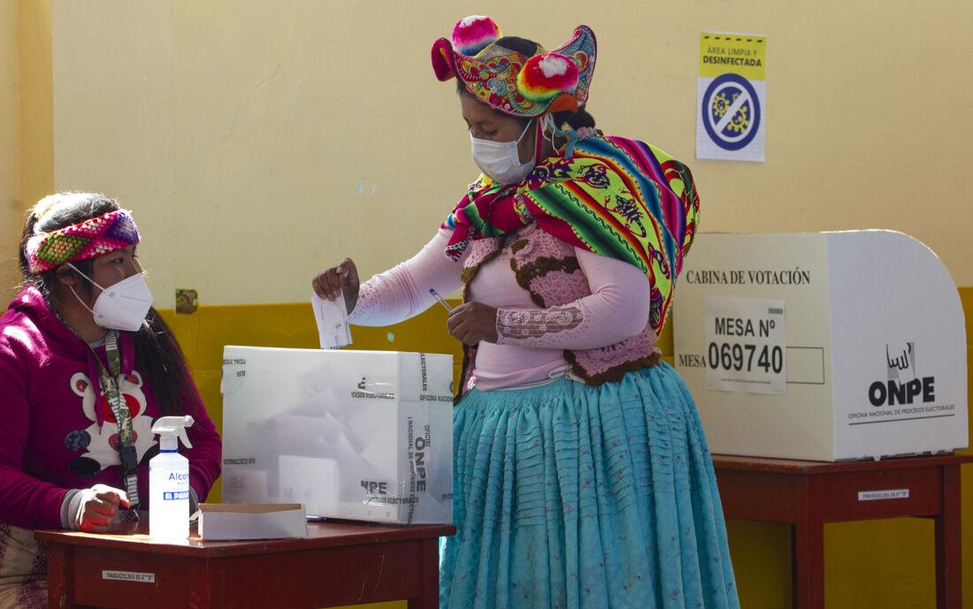 Votação para presidência do Peru
