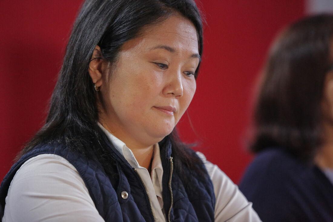 Keiko Fujimor, candidata direitista à presidência do Peru