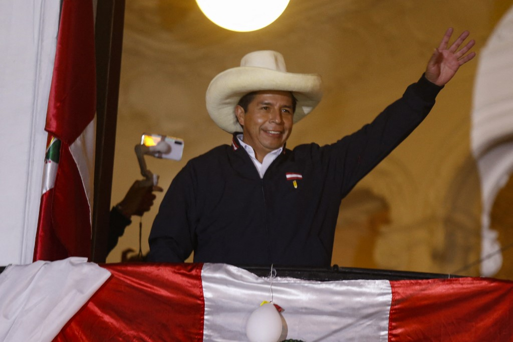 Candidato Pedro Castillo ainda não foi proclamado oficialmente vencedor