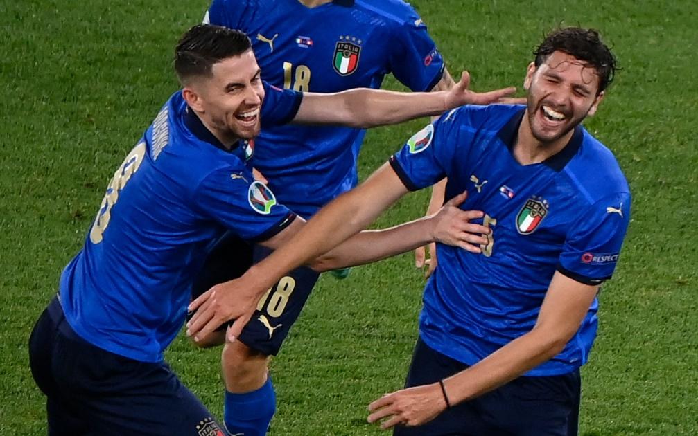 Itália avançou na Eurocopa