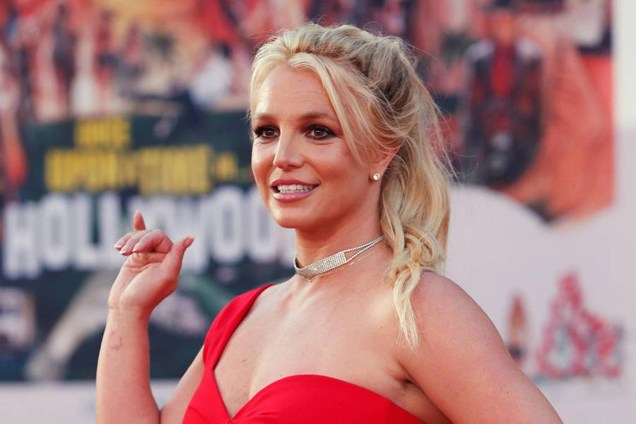 Britney Spears durante evento em Los Angeles