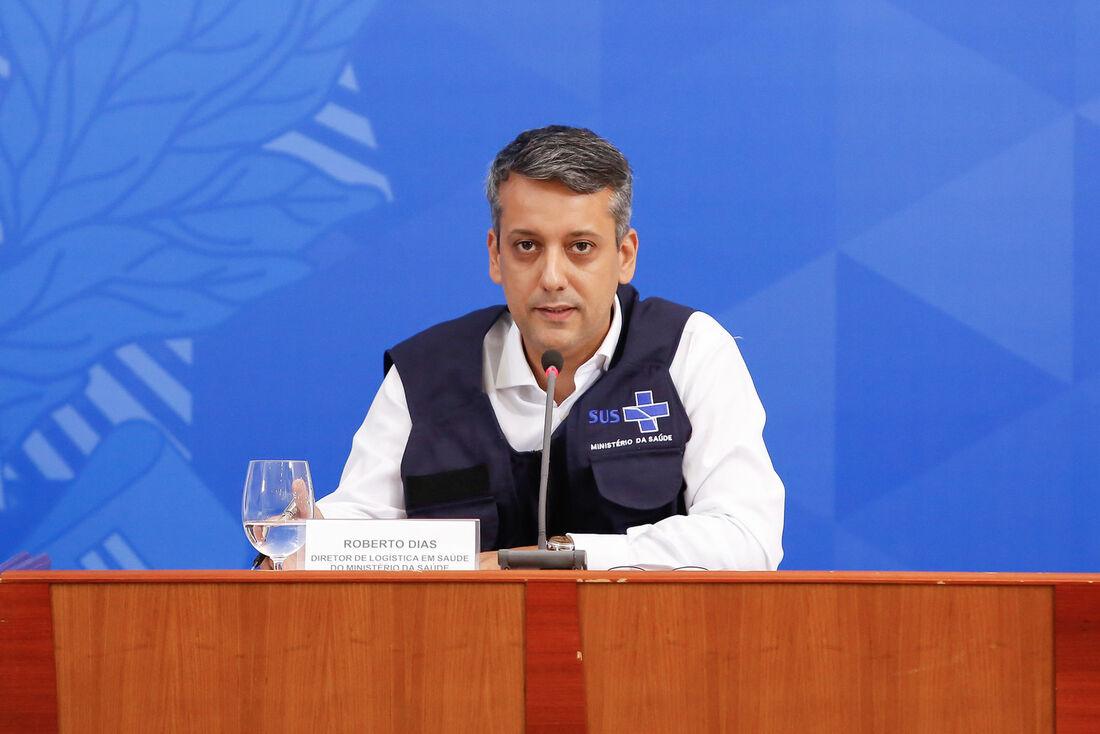 Diretor de Logística da pasta, Roberto Ferreira Dias, é exonerado