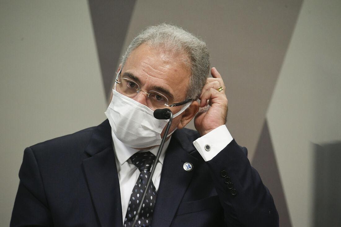 Queiroga confirmou que chega na próxima terça-feira (22) ao Brasil uma remessa de 1,5 milhão de doses de vacinas produzidas pelo laboratório Janssen