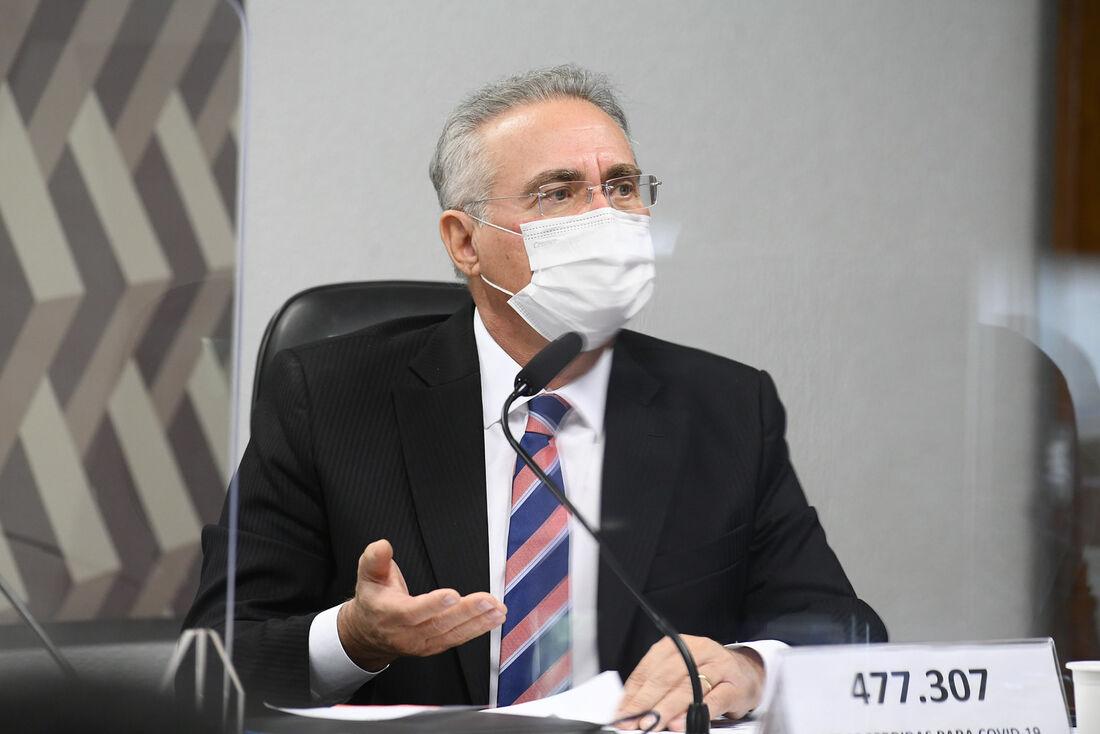 Relator da CPI da Pandemia, senador Renan Calheiros (MDB-AL)