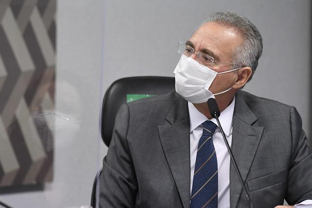 Relator da CPI da Covid, Renan Calheiros (MDB-AL)
