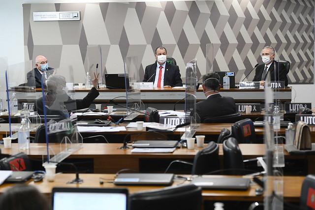 Sessão da CPi da Covid desta terça-feira (22)