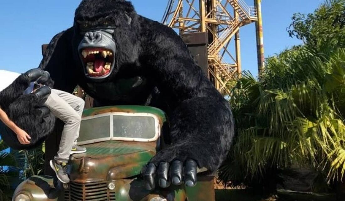 Acidente aconteceu no parque de diversões beto Carreiro World