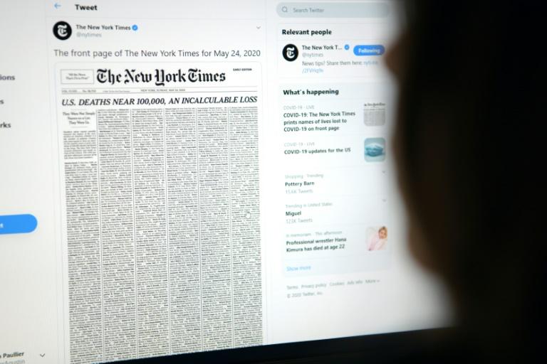 Sites de vários jornais, como o New York Times e o El Mundo, ficaram fora do ar nessa terça-feira