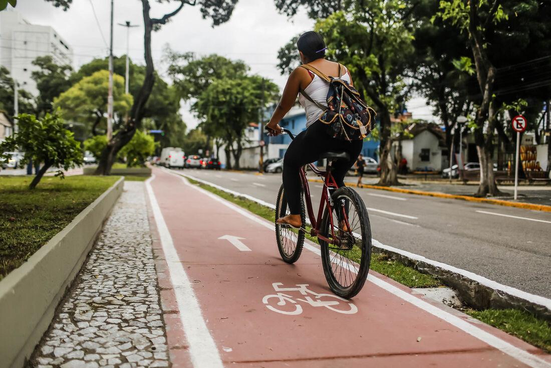 Ciclovia Graça Araújo, no Recife