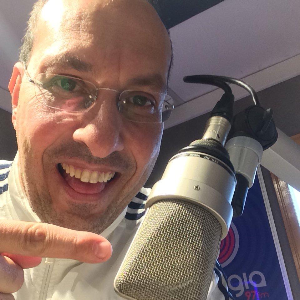 Radialista Domenico Gatto, da rádio Energia 97FM, de São Paulo