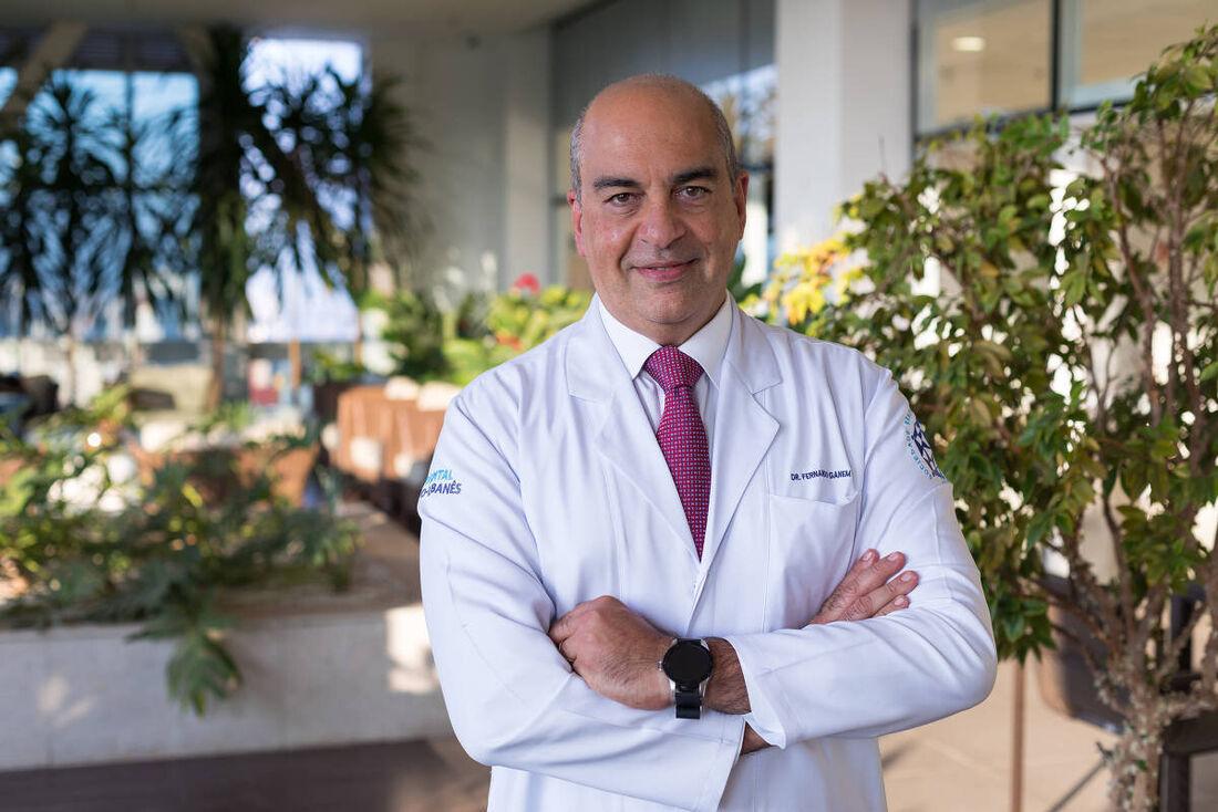 Fernando Ganem está no Sírio-Libanês desde 1992 e ocupou vários cargos nas áreas da assistência e da gestão.