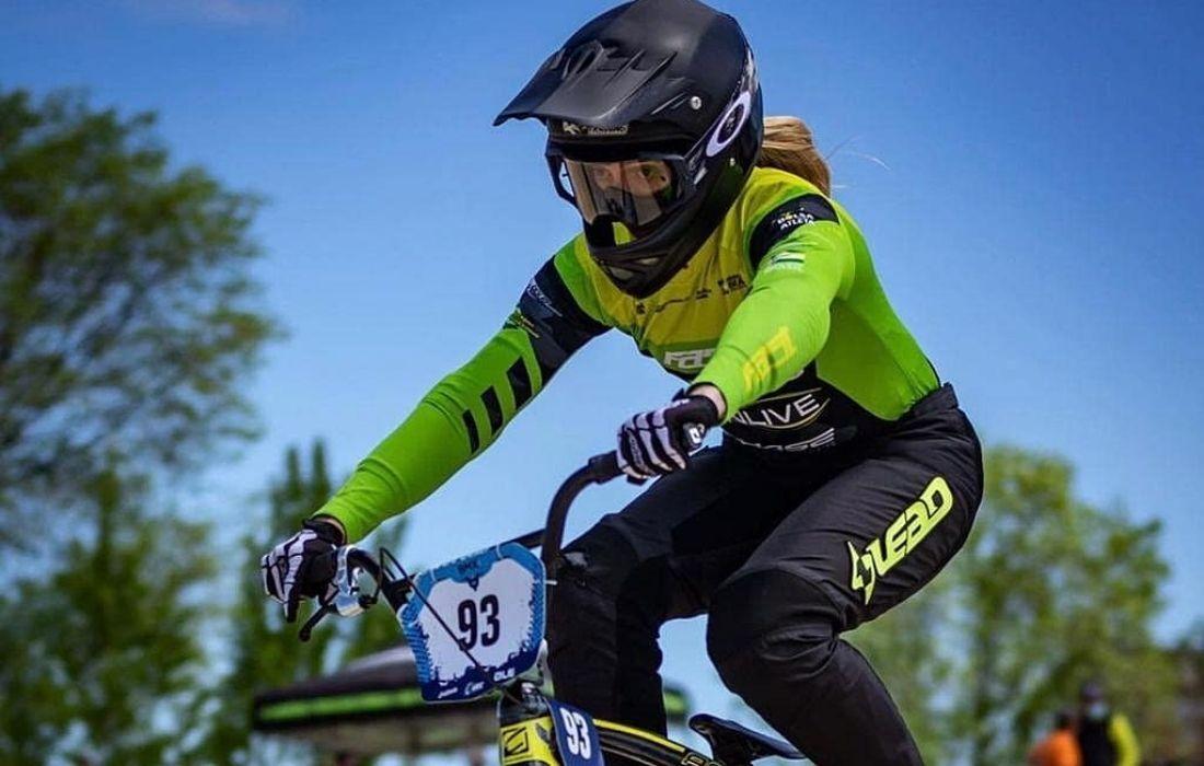 Ciclista Priscilla Stevaux