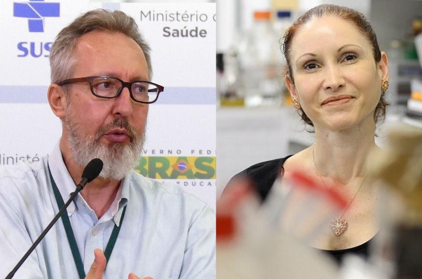Médico sanitarista Maierovitch e microbiologista Natalia Pasternak falarão sobre enfrentamento à pandemia