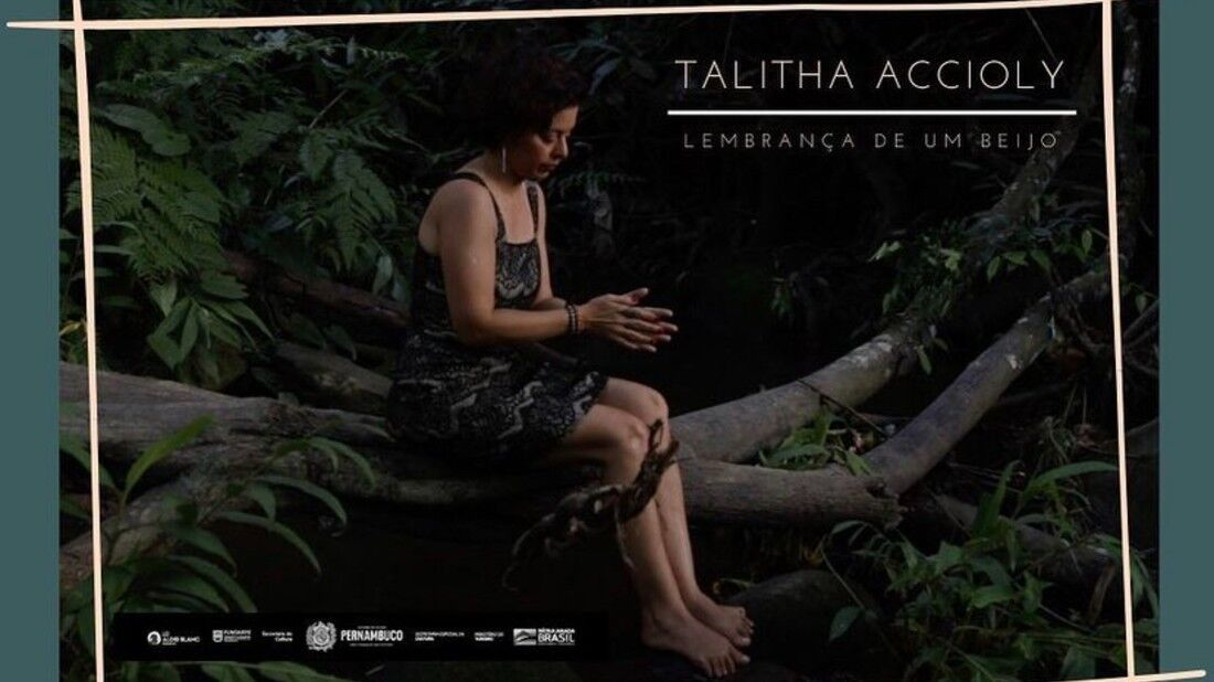 Talitha Accioly lança o clipe de 'Lembrança de um Beijo'