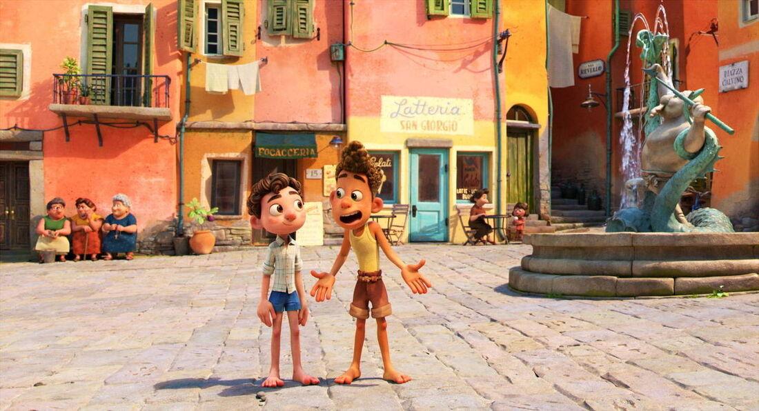 """Filme """"Luca"""", da Pixar"""
