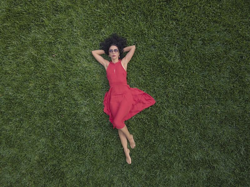 A cantora e compositora Marisa Monte